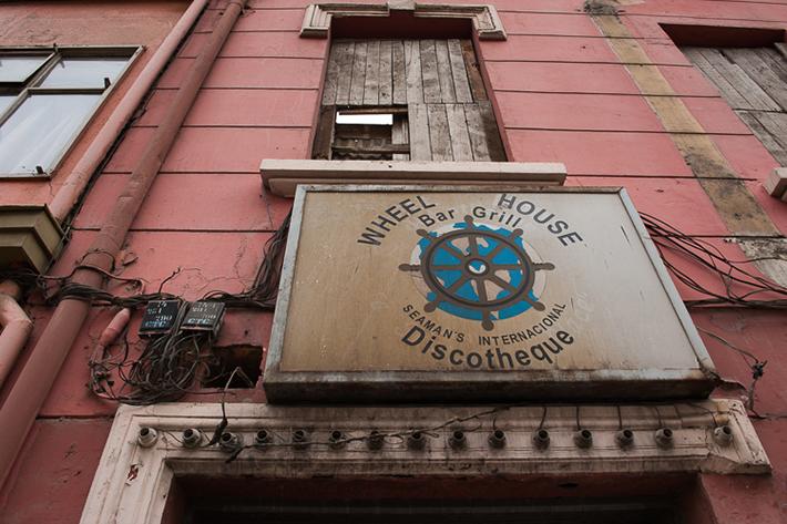Seaman's Internacional Discotheque, Valparaiso, Chile