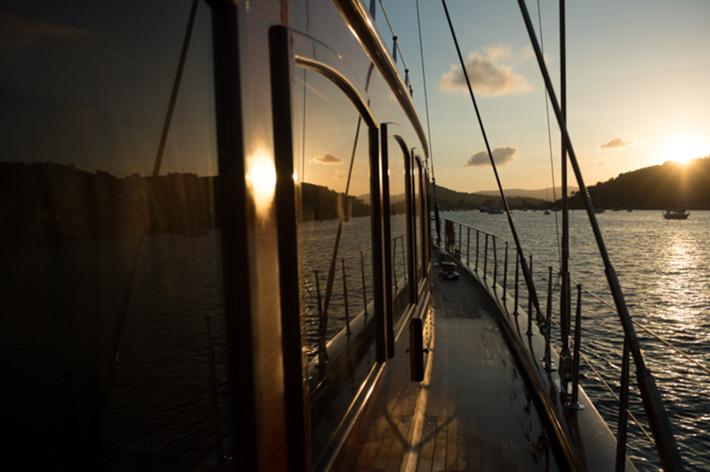 Reflections at dusk.