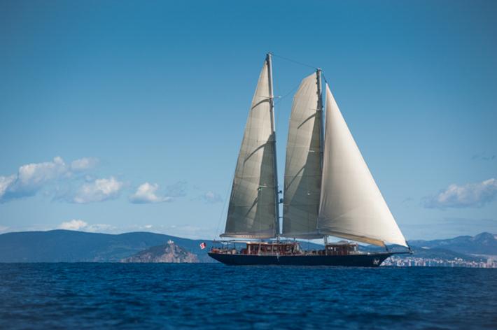 Satori off Elba.