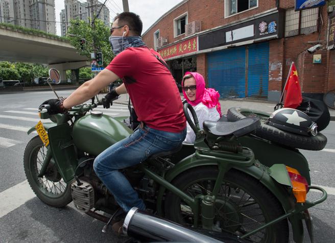 Sidecar touring