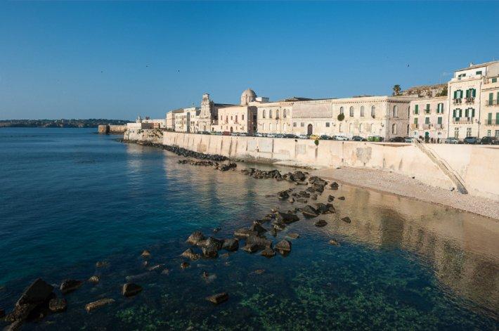 Waterfront, Ortigia.