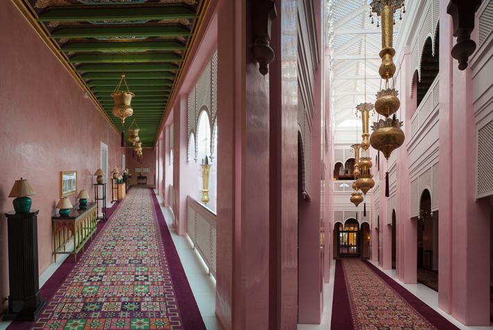 wings in the style of Taj Mumbai