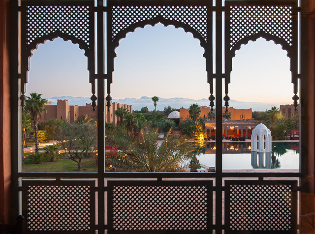 Atlas mountains from suite