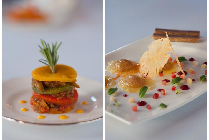 dishes at Rumi