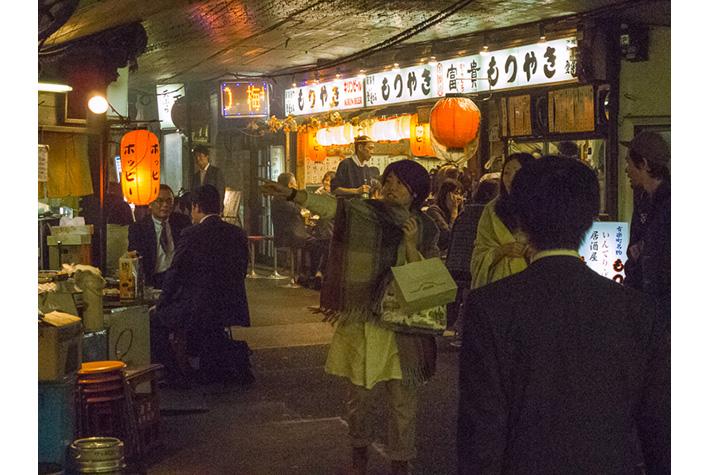Under JR Line, Ginza