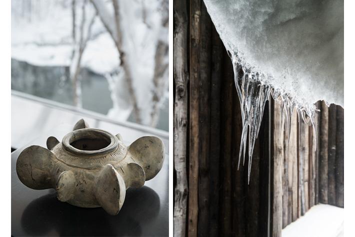 ceramic and ice